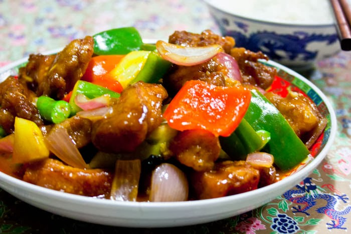 sweet and sour pork and sour pepper pork sweet and sour pork iii ...